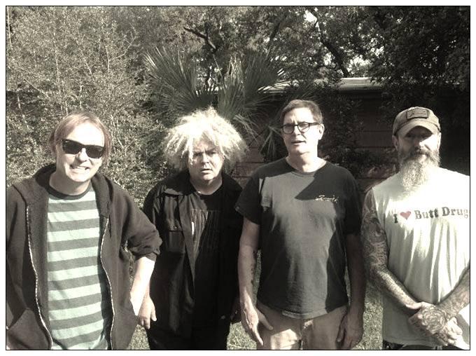 The Melvins: Dale Crover, Buzz Osborne, Paul Leary, Jeff Pinkus