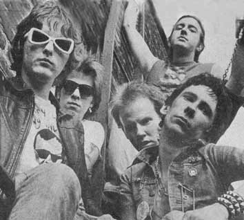 Dead Boys: Johnny Blitz (drums), Cheetah Chrome (guitar), Jeff Magnum (bass), Jimmy Zero (guitar), Stiv Bators (vocals)
