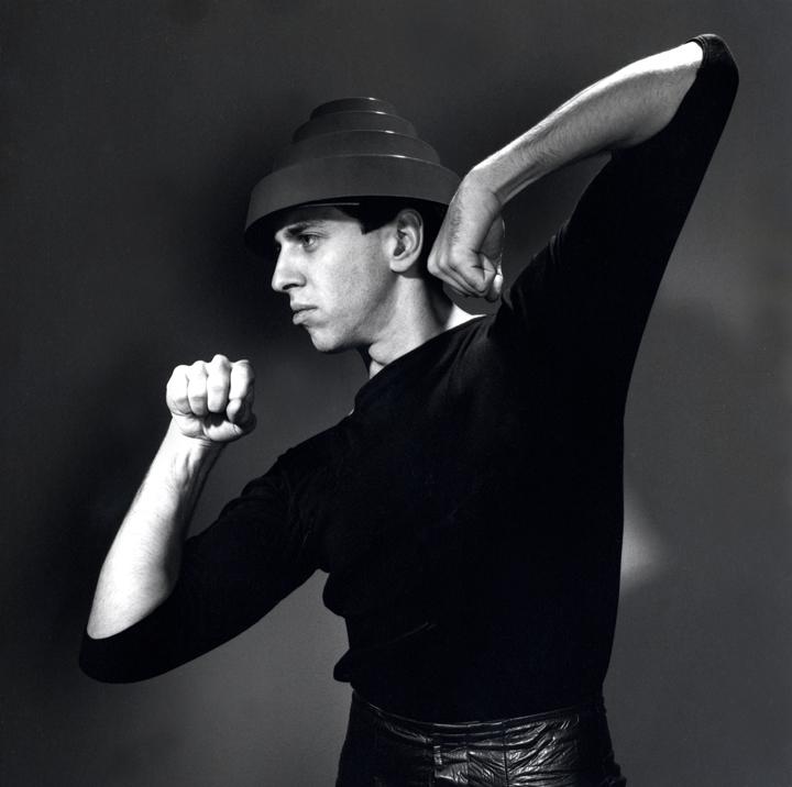 Bob Casale photo circa 1980 by Jules Bates / Artrouble