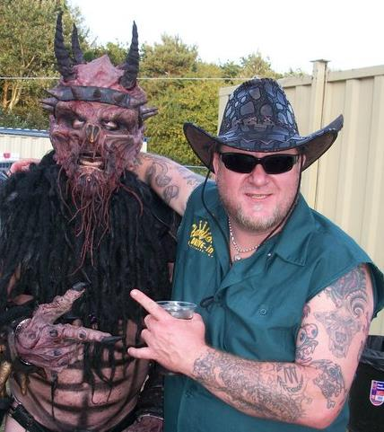 Oderus Urungus and Casey Orr (Beefcake the Mighty in 1994)