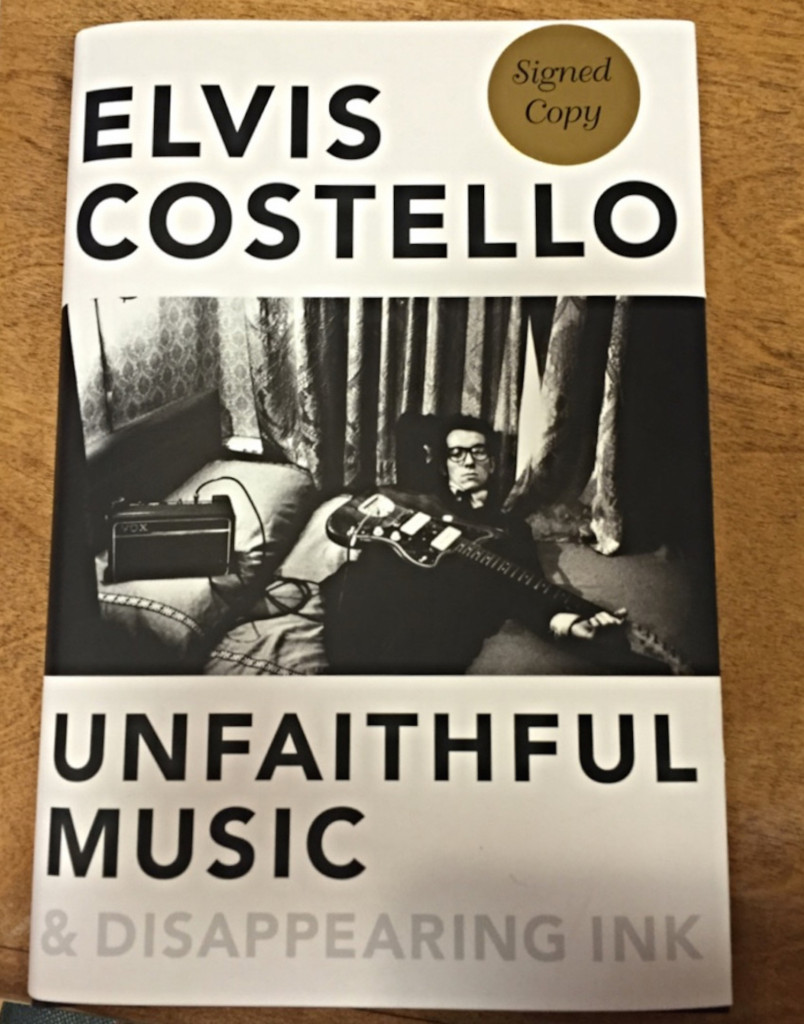 elvis costello, unfaithful music & disappearing ink, nicolette mallow, book people