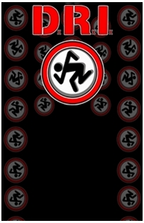d.r.i. skaking logo