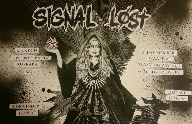 signal lost flyer